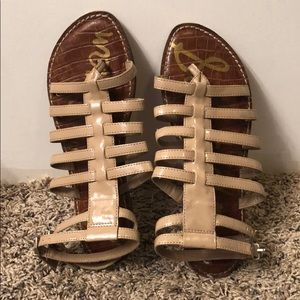 Sam Edelman Tan Gladiator Sandals